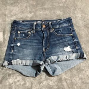 🦅 American Eagle Super Stretch Jean Shorts!